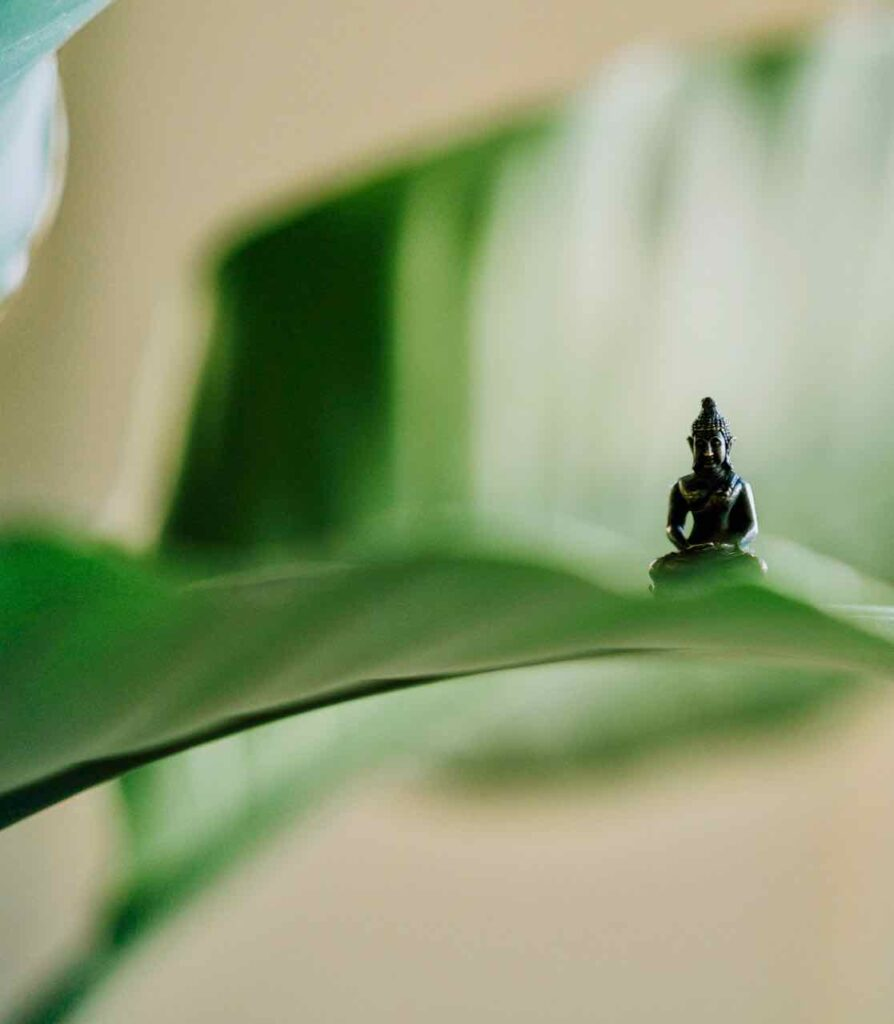 silence stress meditation