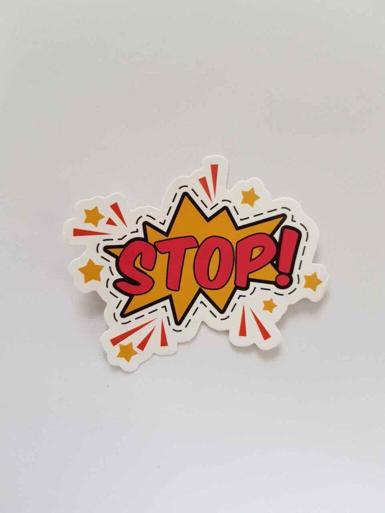 stop stress silence
